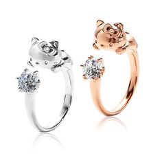 J-Plus | Rakuten Global Market: Hello Kitty with you ring Hello Kitty ring ring ring Kitty-Chan toy ladies j Jewelry Accessories gift featured wrapping free birthday anniversary, Christmas gifts