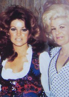 Priscilla Presley & her Mom