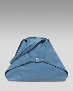 Ai Calfskin Bag, Medium by Akris at Neiman Marcus.