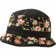 d3011c778aa Primitive Black Roses Bucket Hat Chloe Fashion