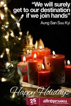 Happy Holidays - Altromercato http://www.altromercato.it/natale