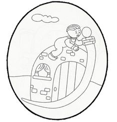 Jawaher_kids&Nisâa: بيوت الحروف الهجائية لتلوين