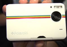 Polaroid Z2300 via @CNET - A Digital Homage to an Analog Fav