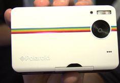 Polaroid Z2300 via @CNET - A Digital Homage to an Analog Fav