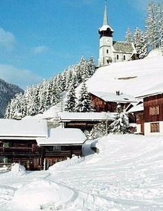 Davos, Switzerland. Going back here for christmas.