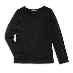 Top s dlouhým rukávem z organické bavlny.   Maximální teplota praní 40°C Materiál: 95% BAVLNA 5% ELASTAN Číslo produktu: 6812002