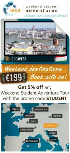 Get the best out of your study abroad experience when you travel with WSA tours!
