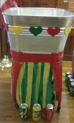 Rasta Party DIY decorations