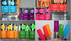 Nails Inc, Neon colours, I'd like them all please!