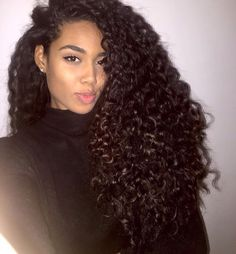 high quality can be dyed indian curly hair weave human hair extensions hair trends Natural Curly Hair, Long Curly Hair, Big Hair, Curly Hair Styles, Natural Hair Styles, Deep Curly, Natural Curls, Short Hair Wigs, Human Hair Wigs