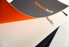 Atelier Fabienne Bulle Architecte - Paris -   Edition / PRINT -   Identité / Branding -  ( CL DESIGN - Paris / London )