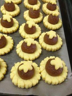 custard pineapple tarts