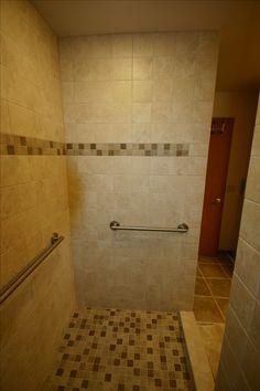 Doorless Walkin Shower Shampoo Box Shampoo Niche Shower Seat - Bathroom remodel in a box