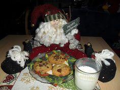 Sabines und Anjas Hobbyeck: Chocolate Chip Cookies :) Chocolate Chip Cookies, Chips, Breakfast, Food, Weihnachten, Baking, Morning Coffee, Potato Chip, Chocolate Cookies