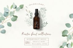 Rustic font collecti