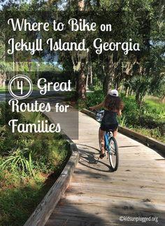 Where to Bike on Jekyll Island, Georgia | Kids Unplugged