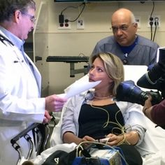 This was a great story to watch unfold in the ER. Local anchor Kendra Kostelecky was a sport to be our mock patient for a STEMI drill. Even my blood pressure rose as I followed along from the sidelines.