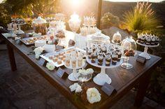 Fancy dessert table    www.BrassTacksEvents.com