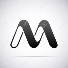 Letter M Design Template Vector Illustration Royalty Free Cliparts, Vectors, And Stock Illustration. Image 40297654.
