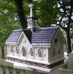 Church Birdhouse <3