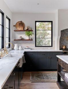 Kitchen Decorating, Home Decor Kitchen, Home Kitchens, Modern Kitchens, Dream Kitchens, Kitchen Modern, Country Kitchen, Kitchen Furniture, Small Kitchens