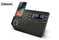 Fancy - Phone Station Plus by Ion Audio Cell Phone Wallet, Cell Phone Plans, Landline Phone, Mobile Technology, Technology Gadgets, Gadgets And Gizmos, Tech Gadgets, Radios, Best Cell Phone Coverage