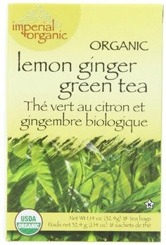 Uncle Lees Imperial Organic Tea  Green Lemon Ginger 18Count Pack of 4 * You can get additional details at the image link. (This is an affiliate link and I receive a commission for the sales)