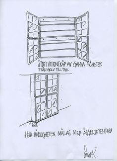 1.2233475.1313071492!vitrinskåp Recycled Windows, Bra Hacks, Diy Tutorial, Recycling, Dining, Crafts, Tutorials, Inspiration, Big