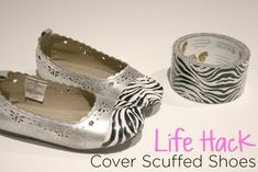 Duck Tape Shoe Upcycle Tips