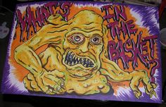 Basket Case Belial Original Monster art drawing One of by Scheres
