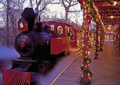Next best thing to the Polar Express.