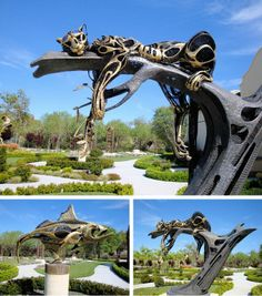 Steampunk Tendencies | Sculpterra Winery and Sculpture Garden, Paso Robles, CA Artist : John Jagger (Jim G)
