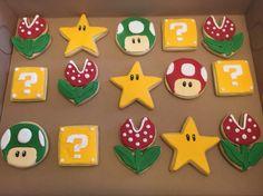 Super Mario brother cookies