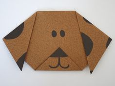 Everybody loves an origami puppy! Make your own 'Bolt' by following the instructions on the image.