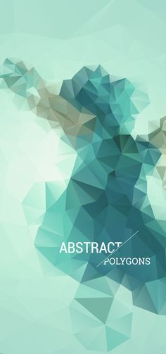 Abstract polygons researchs by Bertrand Berlureau, via Behance