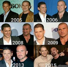 Captain Cold/Michael Scofield/Wentworth Miller and Heatwave/Lincoln Burrows/Dominic Purcell