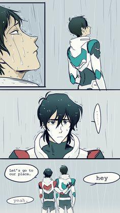 Don't cry I missed the rain