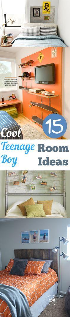15 Cool Teenage Boy Room Ideas. DIY, DIY home projects, home décor, home, dream home, DIY. projects, home improvement, inexpensive home improvement, cheap home DIY, bedroom ideas, boy bedroom, bedroom decorating hacks.
