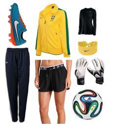 Cute Brazil Goalkeeper Outfit  #Soccer