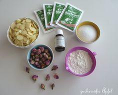 - Anzeige - Es duftet nach Rosen...Badepralinen DIY | ♥ Zuckersüße Äpfel - kreativer Familienblog und Reiseblog ♥