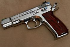 CZ 75 B. Good to look at - and a joy to shoot.