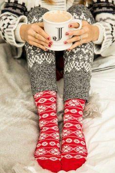 Winter Photography | Cozy Winter Socks