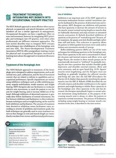 Occupational Therapy for Physical Dysfunction - RIP: Reflex Inhibiting Patterns