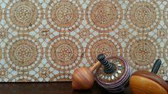 Cork pinboard Moroccan Lace design #pinboard #corkboard #lace #moroccan http://binaryoptions360review.com/