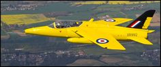 The aircraft is painted in No 4 FTS colours, representing the crucial role that the aircraft played in the training of so … Military Jets, Military Aircraft, Folland Gnat, Red Arrow, Civil Aviation, Royal Air Force, Jet Plane, Aeroplanes, Paint Schemes
