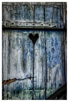 AN EMPTY HEART IN THE FENCE