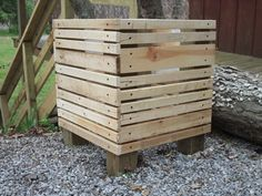 Love the look of these... Will line mine with landscaping cloth.