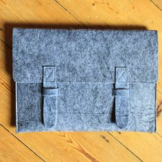 grey felt colouring book pouch by berylune   notonthehighstreet.com