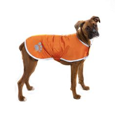 Help pets take a bite out of nasty weather with Zack and Zoey® Nor'easter blanket coats for dogs. Each jacket features a reversible waterproof shell, a soft plaid fleece lining and a reflective stripe.