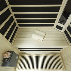Infrared sauna with himalayan salt therapy Infra Sauna, Himalayan Salt, Therapy, Stairs, Home Decor, Infrared Sauna, Stairway, Staircases, Interior Design